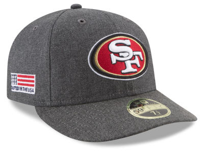 San Francisco 49ers New Era NFL Crafted In America Low Profile 59FIFTY Cap