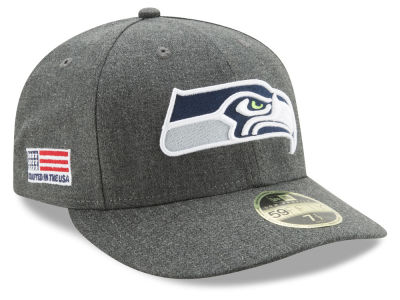 Seattle Seahawks New Era NFL Crafted In America Low Crown 59FIFTY Cap