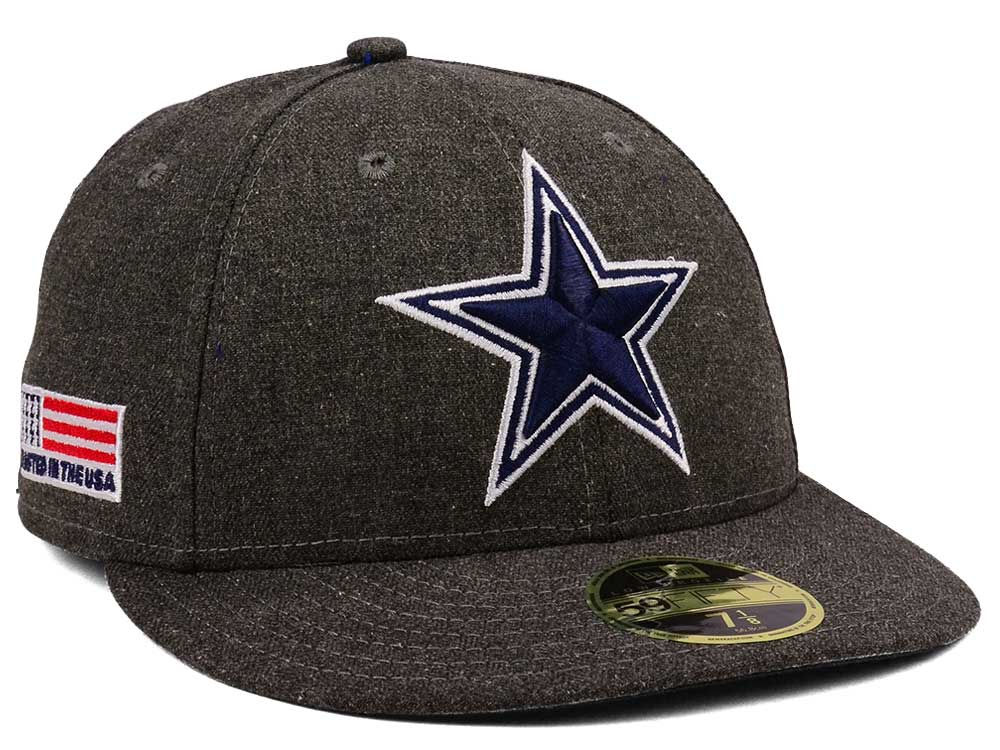 56c8ce21930 Dallas Cowboys New Era NFL Crafted In America Low Profile 59FIFTY Cap