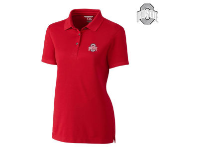 Ohio State Buckeyes Cutter & Buck NCAA Women's Advantage Polo
