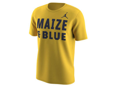 Michigan Wolverines Nike NCAA Men's Alternate Uniform T-shirt