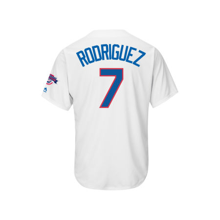 Texas Rangers Ivan Rodriguez MLB Men's Hall Of Fame Induction Patch Cool Base Jersey