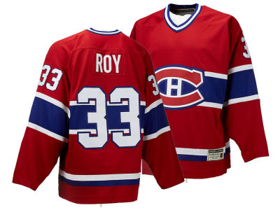 Montreal Canadiens Patrick Roy CCM NHL Men's Authentic Classic Player Jersey