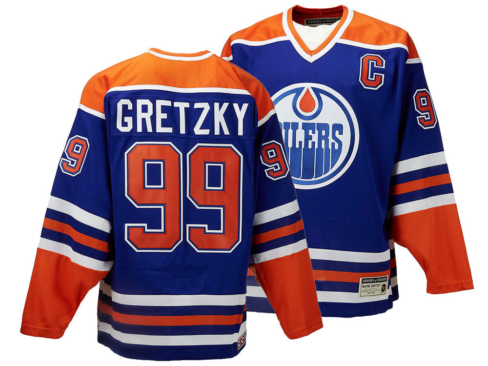 Edmonton Oilers Wayne Gretzky CCM NHL Men s Authentic Classic Player Jersey   25947fba3f0