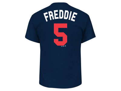 Atlanta Braves Freddie Freeman Majestic MLB Men's Players Weekend Name & Number T-Shirt