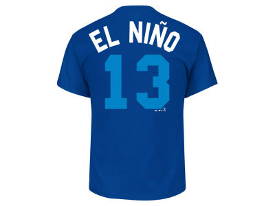 Kansas City Royals Salvador Perez Majestic MLB Men's Players Weekend Name & Number T-Shirt