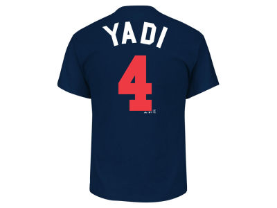 St. Louis Cardinals Yadier Molina MLB Men's Players Weekend Name & Number T-Shirt