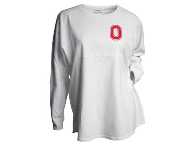 Ohio State Buckeyes J America NCAA Women's Gameday Jersey Long Sleeve T-Shirt