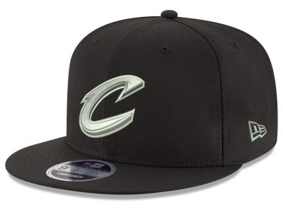 Cleveland Cavaliers New Era NBA Black on Shine 9FIFTY Snapback Cap