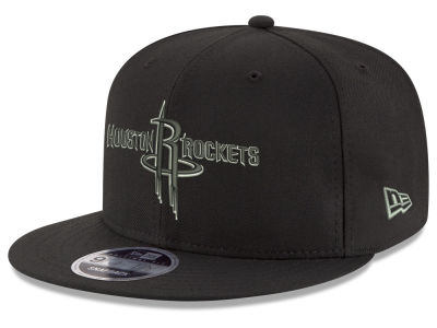 Houston Rockets New Era NBA Black on Shine 9FIFTY Snapback Cap