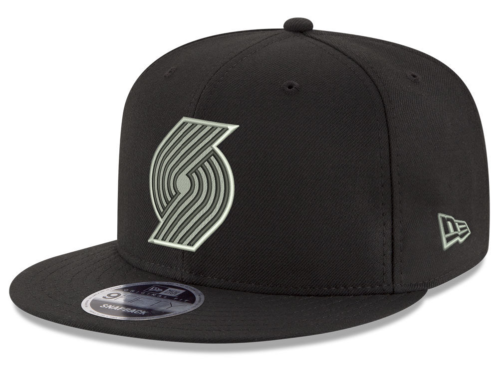 bd2f74b3c009fd ... promo code portland trail blazers new era nba black on shine 9fifty  snapback cap 0d6ef 0154c