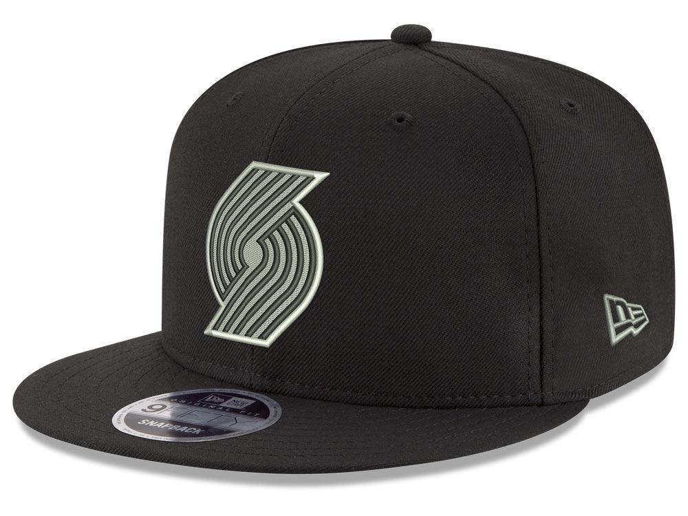 designer fashion 33a20 d8b14 ... promo code portland trail blazers new era nba black on shine 9fifty  snapback cap 0d6ef 0154c