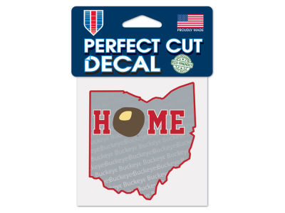 Ohio State Buckeyes 4x4 Die Cut Decal