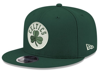 Boston Celtics New Era NBA Fall Dubs 9FIFTY Snapback Cap