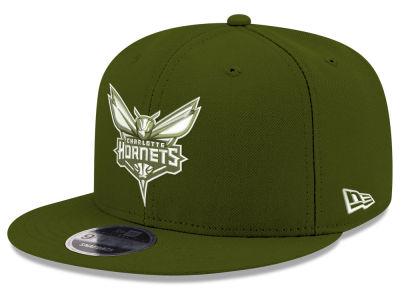 Charlotte Hornets New Era NBA Fall Dubs 9FIFTY Snapback Cap