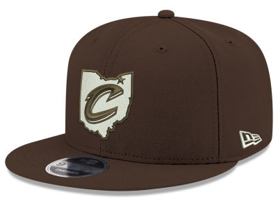 Cleveland Cavaliers New Era NBA Fall Dubs 9FIFTY Snapback Cap