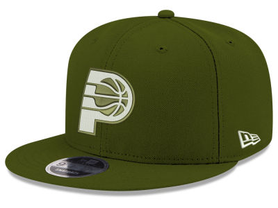 Indiana Pacers New Era NBA Fall Dubs 9FIFTY Snapback Cap