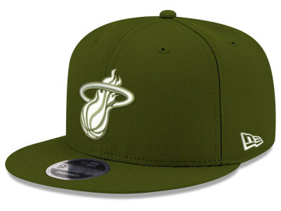 Miami Heat New Era NBA Fall Dubs 9FIFTY Snapback Cap
