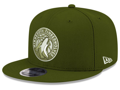 Minnesota Timberwolves New Era NBA Fall Dubs 9FIFTY Snapback Cap
