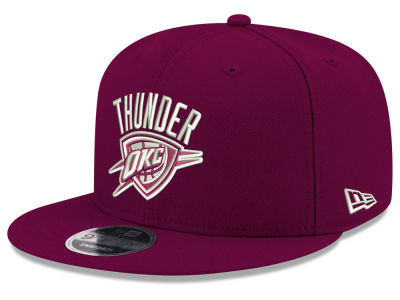 Oklahoma City Thunder New Era NBA Fall Dubs 9FIFTY Snapback Cap