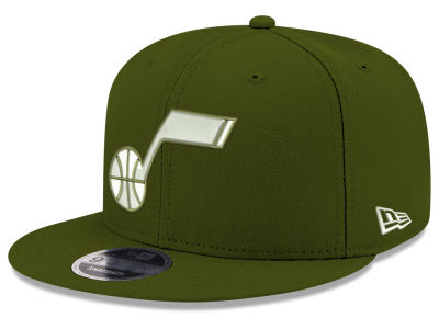 Utah Jazz New Era NBA Fall Dubs 9FIFTY Snapback Cap