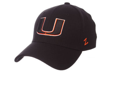 Miami Hurricanes Zephyr NCAA Finisher Stretch Cap