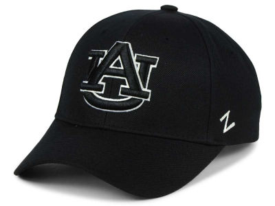 Auburn Tigers Zephyr NCAA Black & White Competitor Cap