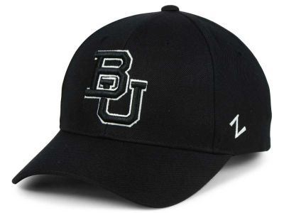 Baylor Bears Zephyr NCAA Black & White Competitor Cap