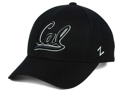 California Golden Bears Zephyr NCAA Black & White Competitor Cap