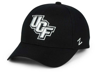 University of Central Florida Knights Zephyr NCAA Black & White Competitor Cap