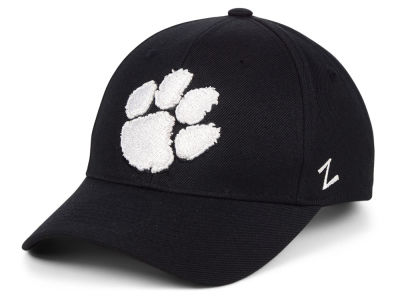 Clemson Tigers Zephyr NCAA Black & White Competitor Cap
