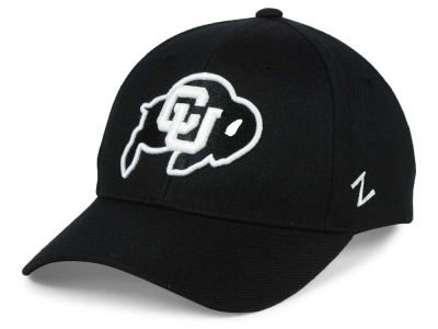 Colorado Buffaloes Zephyr NCAA Black & White Competitor Cap