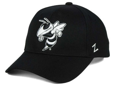 Georgia-Tech Zephyr NCAA Black & White Competitor Cap