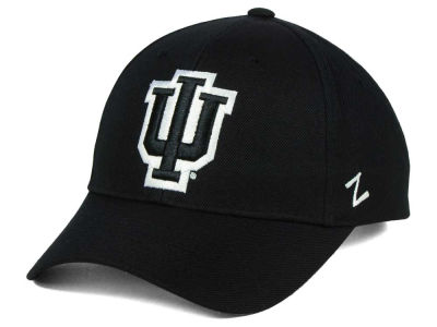 Indiana Hoosiers Zephyr NCAA Black & White Competitor Cap