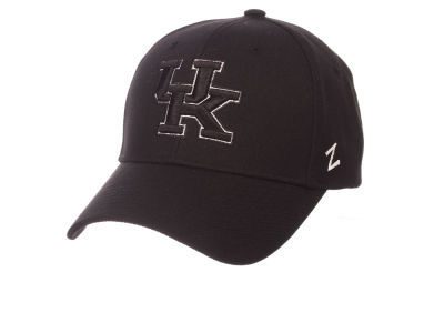 Kentucky Wildcats Zephyr NCAA Black & White Competitor Cap