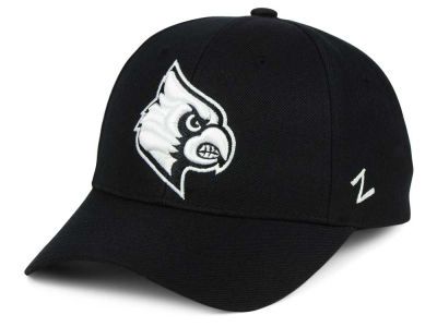 Louisville Cardinals Zephyr NCAA Black & White Competitor Cap