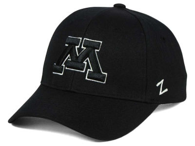Minnesota Golden Gophers Zephyr NCAA Black & White Competitor Cap