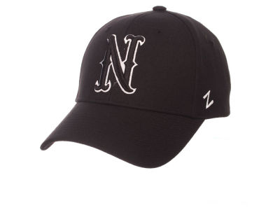 Nevada Wolf Pack Zephyr NCAA Black & White Competitor Cap
