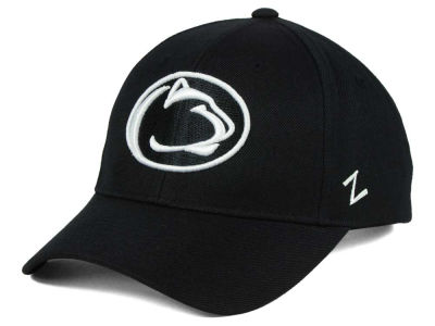 Penn State Nittany Lions Zephyr NCAA Black & White Competitor Cap