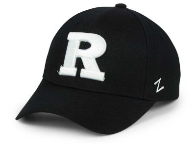 Rutgers Scarlet Knights Zephyr NCAA Black & White Competitor Cap