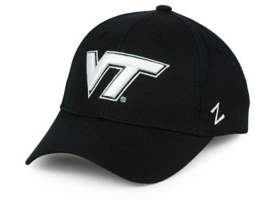 Virginia Tech Hokies NCAA Black & White Competitor Cap