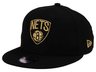NBA Youth Black sur le chapeau de l'or 9FIFTY Snapback