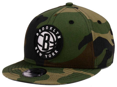 Brooklyn Nets New Era NBA Youth Woodland Team 9FIFTY Snapback Cap