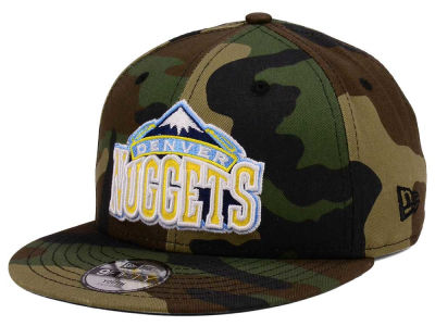 Denver Nuggets New Era NBA Youth Woodland Team 9FIFTY Snapback Cap