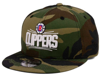 Los Angeles Clippers New Era NBA Youth Woodland Team 9FIFTY Snapback Cap