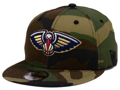 New Orleans Pelicans New Era NBA Youth Woodland Team 9FIFTY Snapback Cap