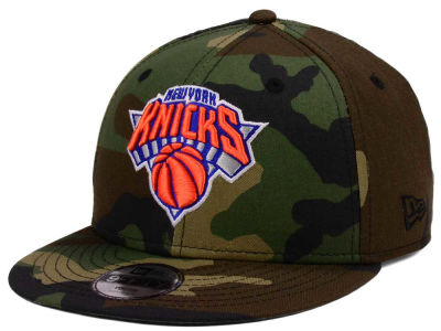 New York Knicks New Era NBA Youth Woodland Team 9FIFTY Snapback Cap