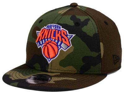 New York Knicks New Era NBA Youth Woodland Team 9FIFTY Snapback Cap c4b505299e9