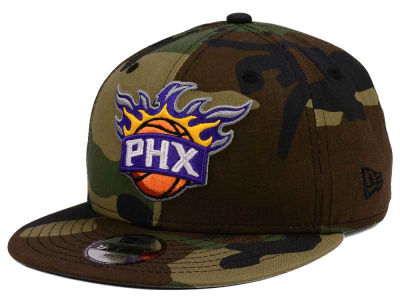 Phoenix Suns New Era NBA Youth Woodland Team 9FIFTY Snapback Cap
