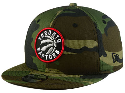 Toronto Raptors New Era NBA Youth Woodland Team 9FIFTY Snapback Cap